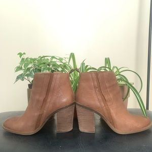 "Lucky Brand ""Sassa"" leather ankle bootie"